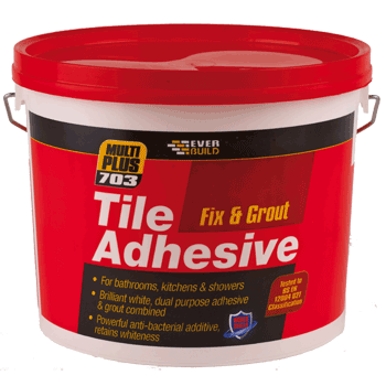 Fix And Grout Tile Adhesive White