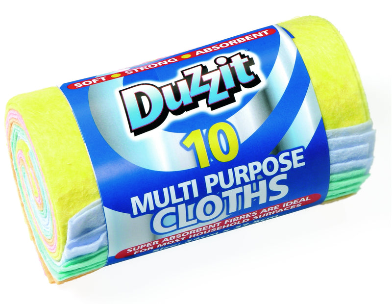 Multipurpose Cloths 10pk
