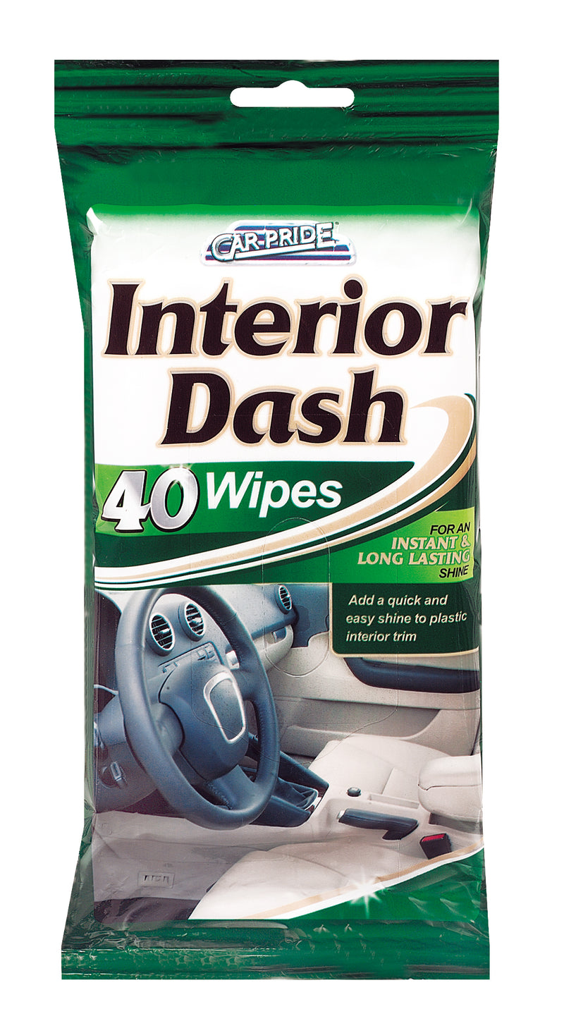 Interior Dash Wipes 40pk