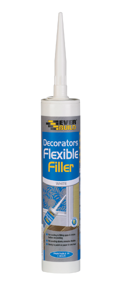 Decorators Flexible Filler White