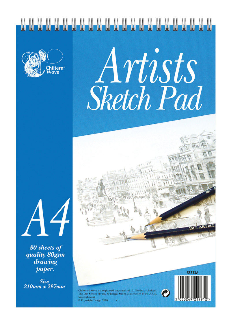 Sketch Pad Wiro Top A4 80 Sheets