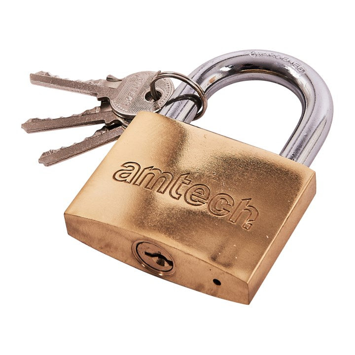 63mm Brass Padlock