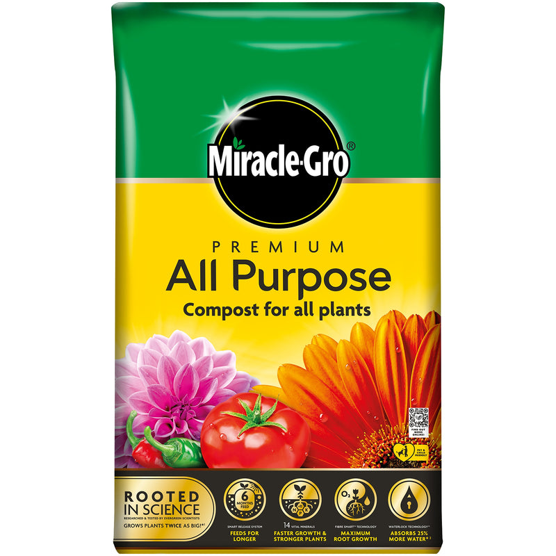 Miracle Gro All Purpose Enriched Compost - 40L