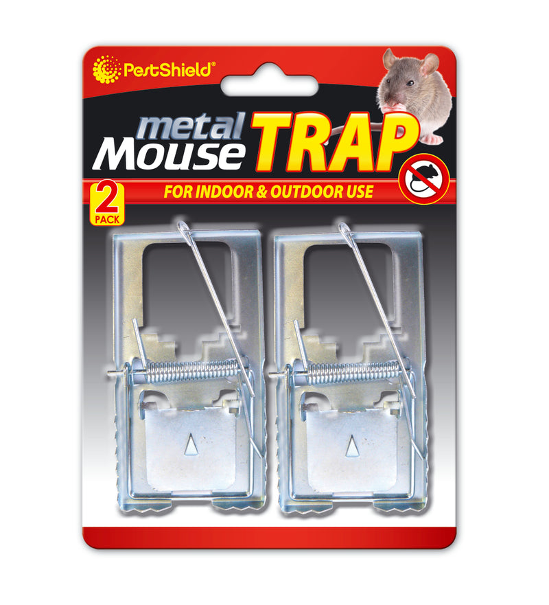 Mouse Trap Metal 2pk