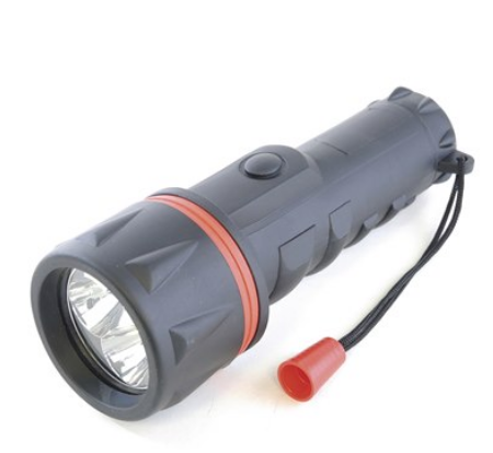 LED Torch Rubber 10''