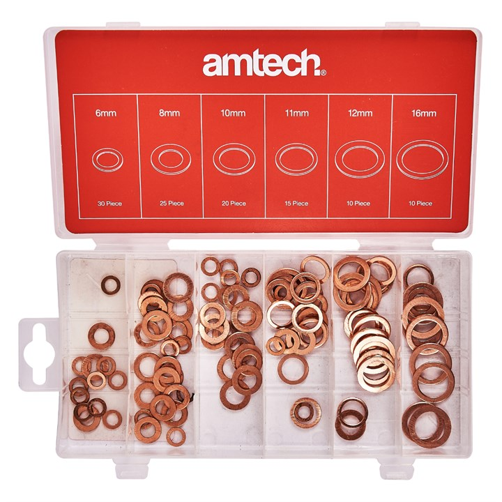 110pc Copper Washers Set