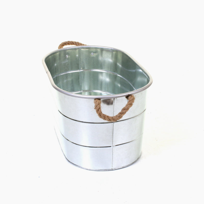 Whitecastle Galvanised Laundry Basket