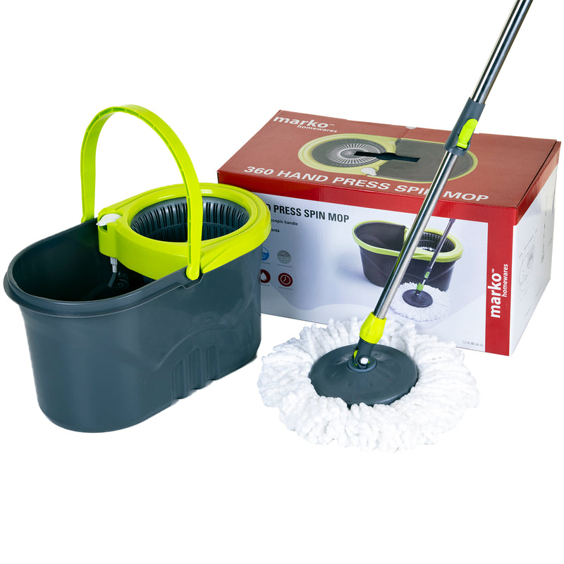 360 Spin Mop & Bucket Set