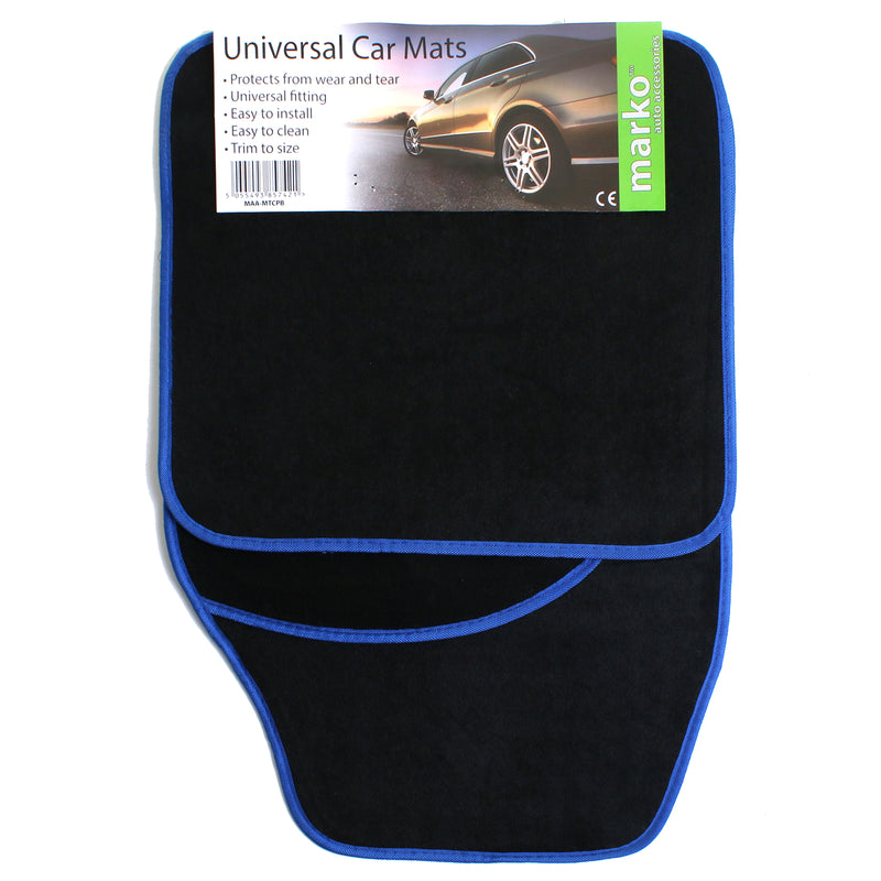 Carpet Car Mats - Non Slip Back