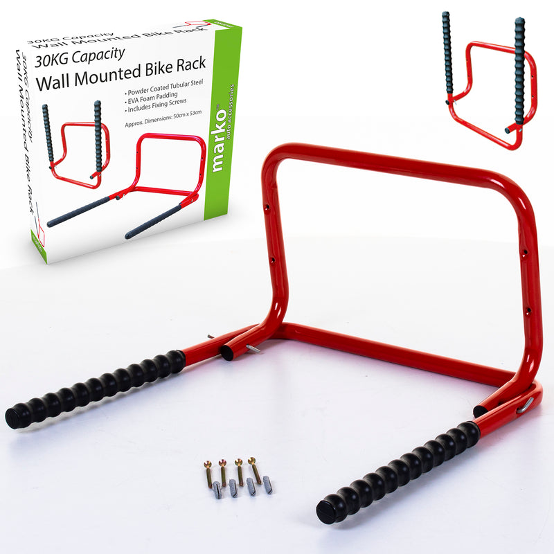 30KG Capacity Wall Mounted Bike Rack