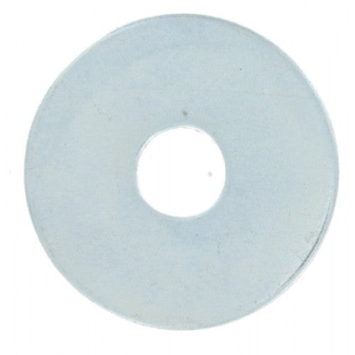 Zinc Penny Washers M6 x 25mm 16pc