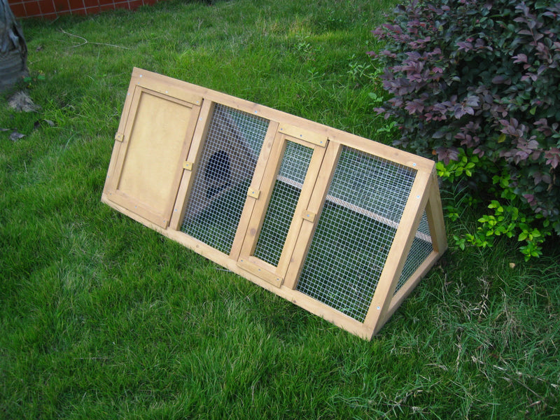 Triangle Rabbit Hutch