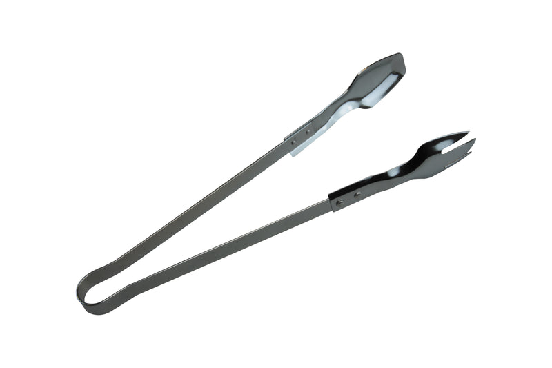 Metal Tongs Chrome 24cm