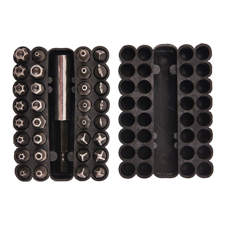 33pc Security Power Bit Set