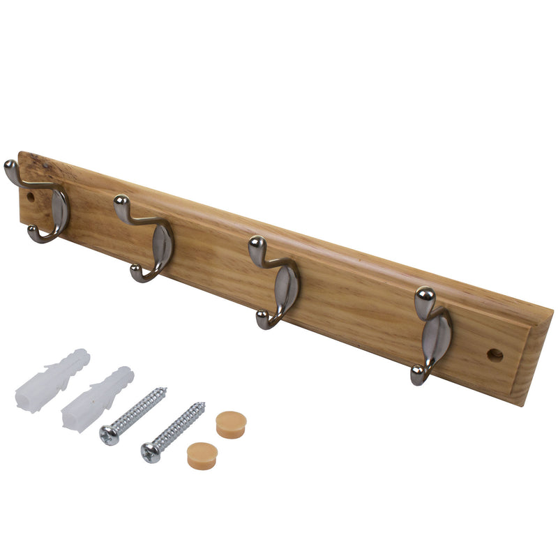 4 Double Coat Racks