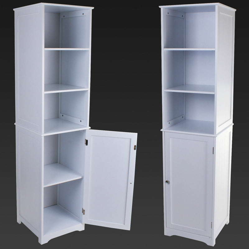 Tallboy Storage Unit - White Box