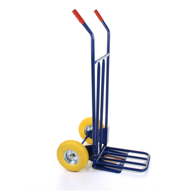 Sack Truck with Folding Toeplate - Puncture Proof Tyres