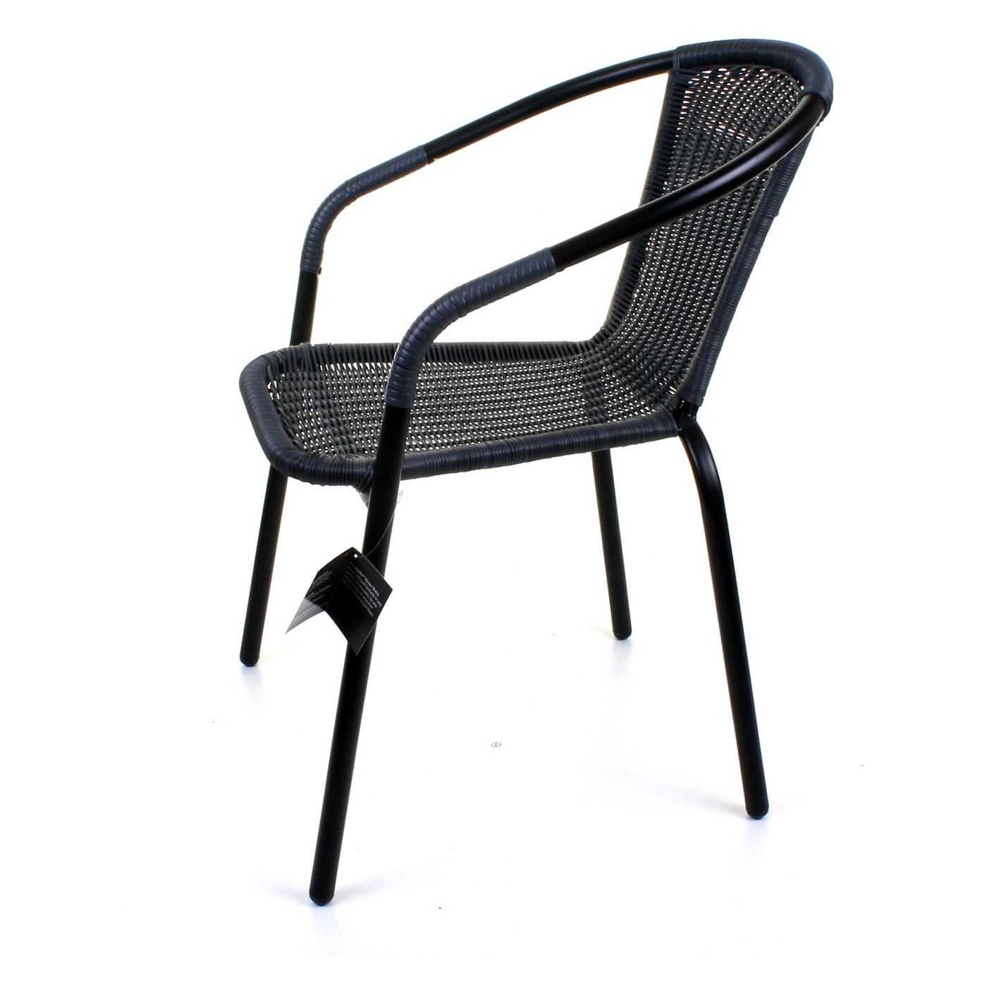 Grey Wicker Bistro Chair Jmart Warehouse