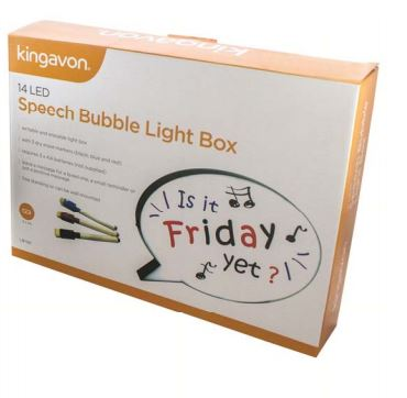 Speech Bubble Light Box 14 LED