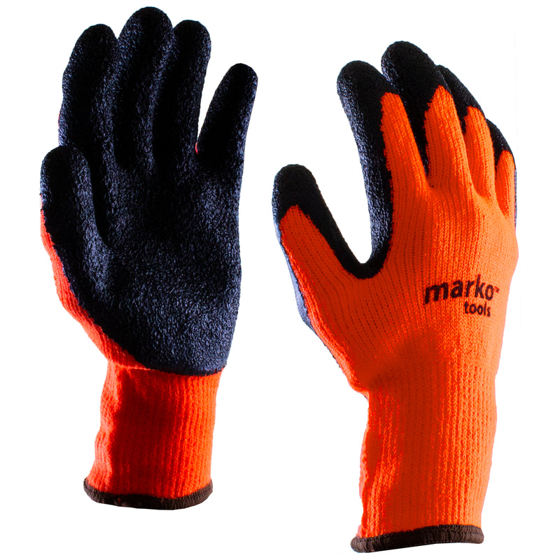 Orange & Black Heavy Duty Gloves