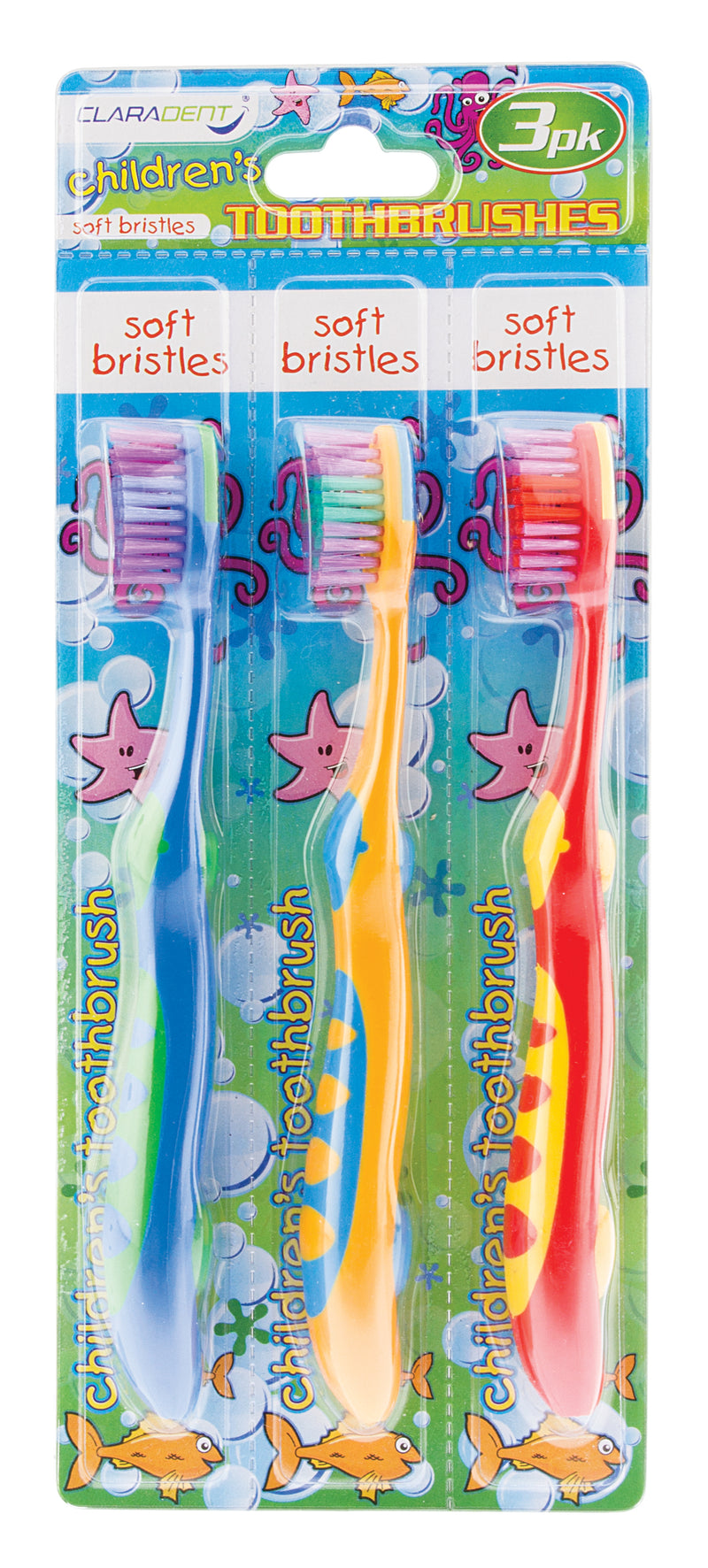 Children's Toothbrushes 3pk