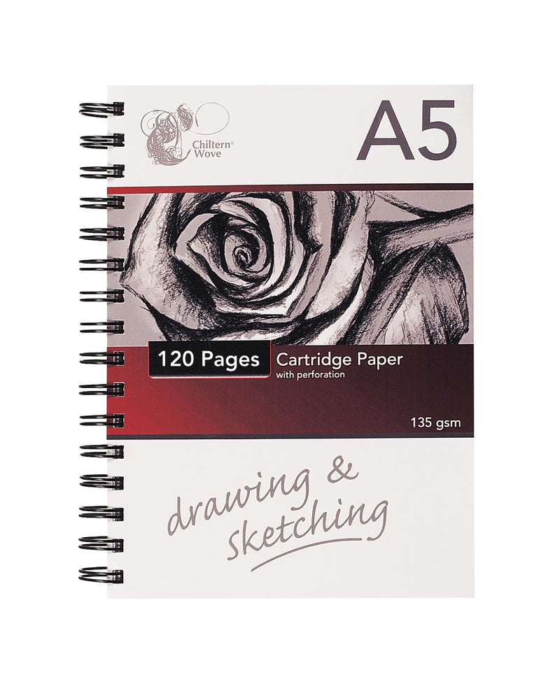 Sketch Pad Spiral Bound A5 120 Pages
