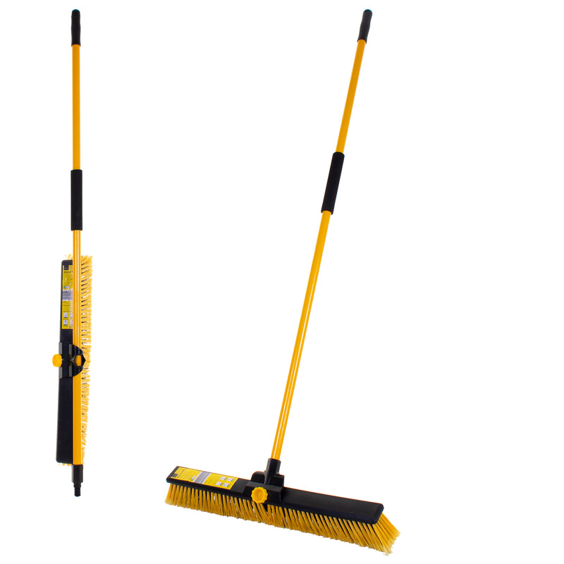 "24"" Bulldozer Broom with Handle"