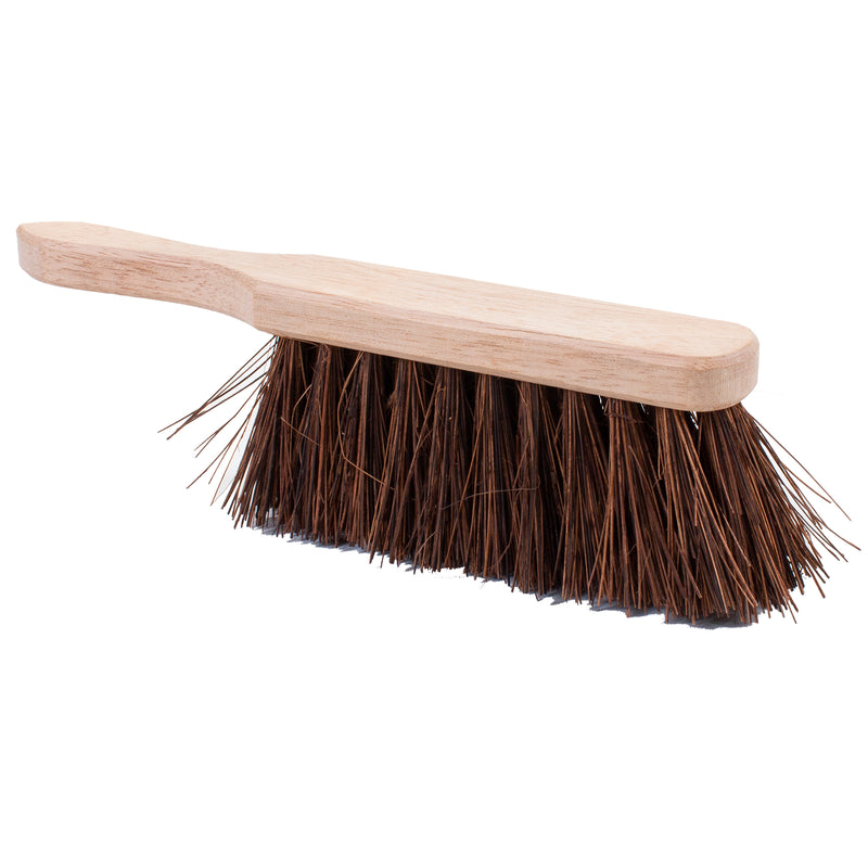 "11"" Stiff Bassine Wooden Hand Brush"