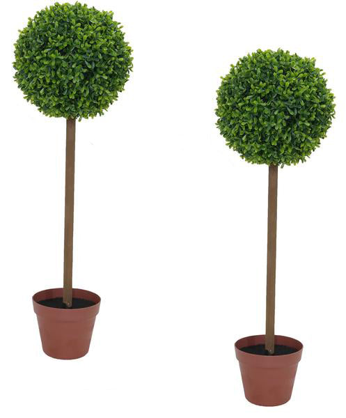 2x Topiary Ball Trees