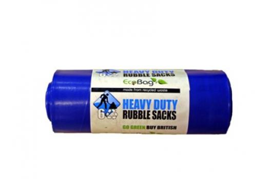 6 RUBBLE SACK LITRES 30  Box Of 20 For £36.99