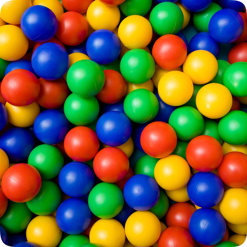 Plastic Balls 100pc (1 pack)