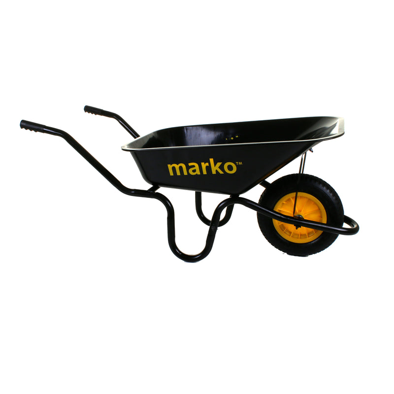 85L/150KG Black Wheelbarrow