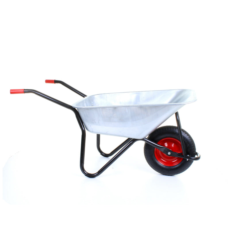 100L Wheelbarrow - Black Frame