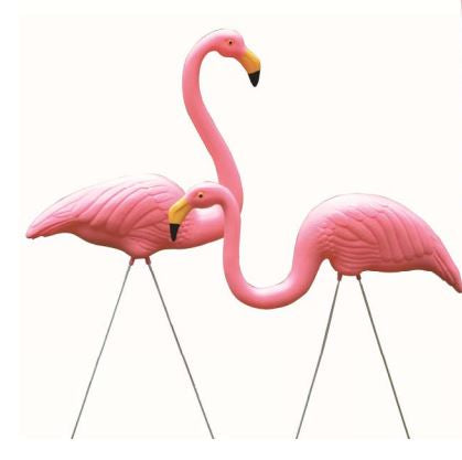 Garden Flamingo Set 2pc