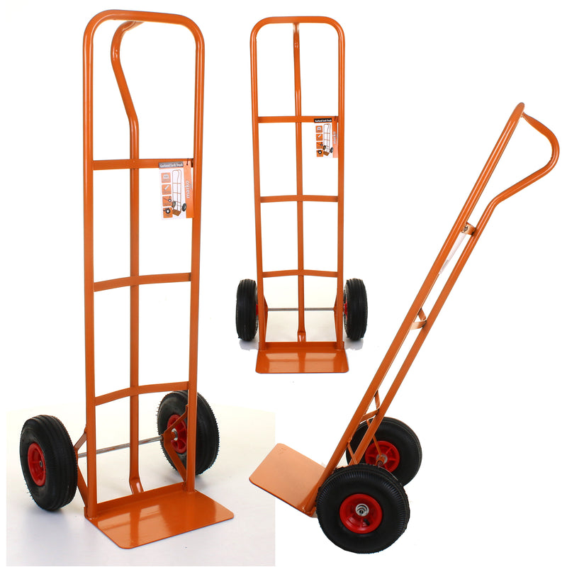 Garland Orange Sack Truck - Red Wheels
