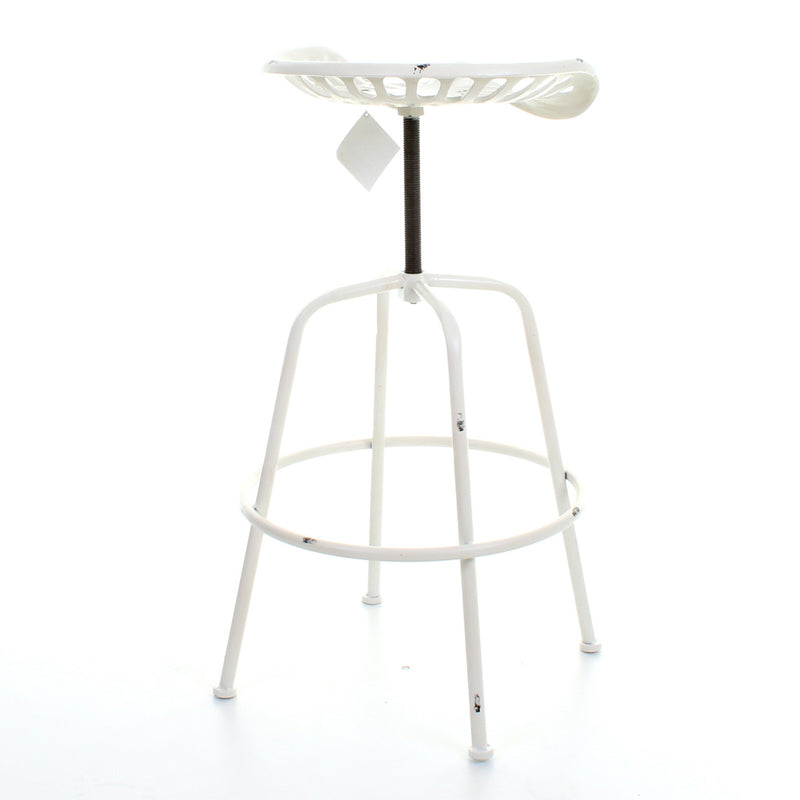 Arezzo Bar Stool - White