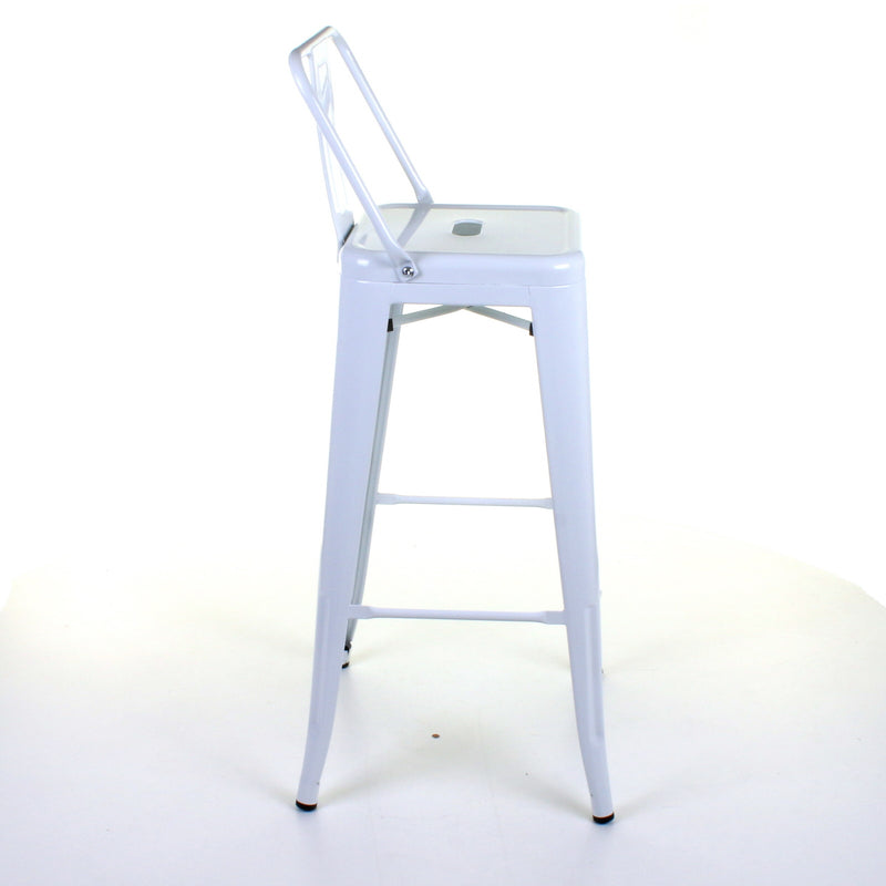 Naples Bar Stool - White