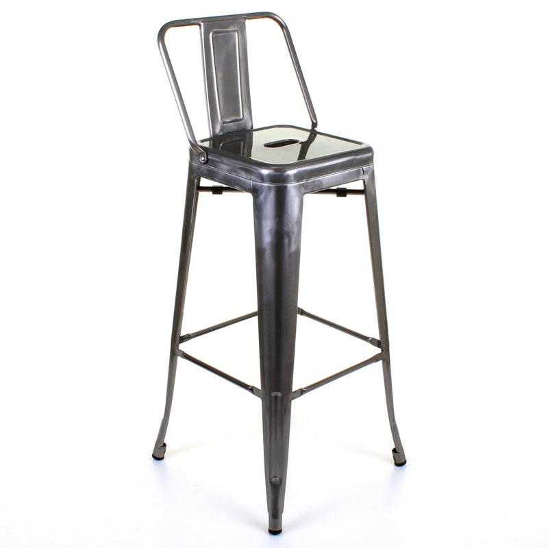 Naples Bar Stool - Steel
