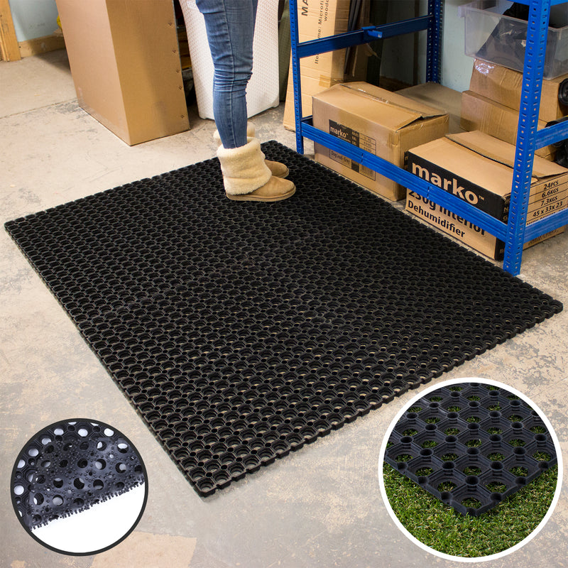 Rubber Ring Mat - 1M x 1.5M x 16mm
