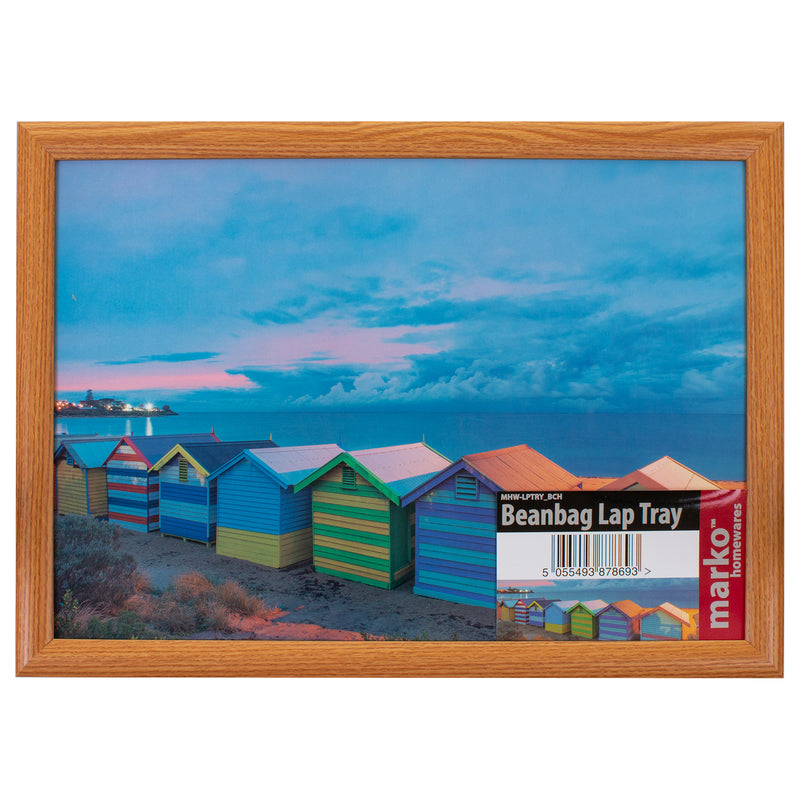 Beach Huts Laptray
