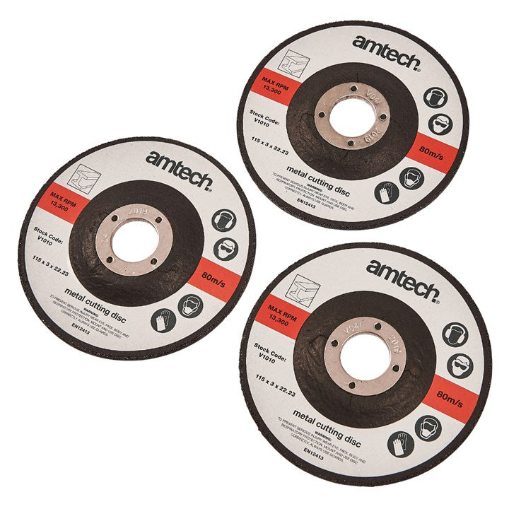 3pc 115mm Metal Cutting Disc