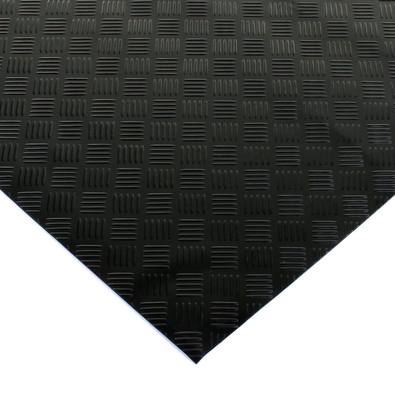 Checker Plate Rubber Mat