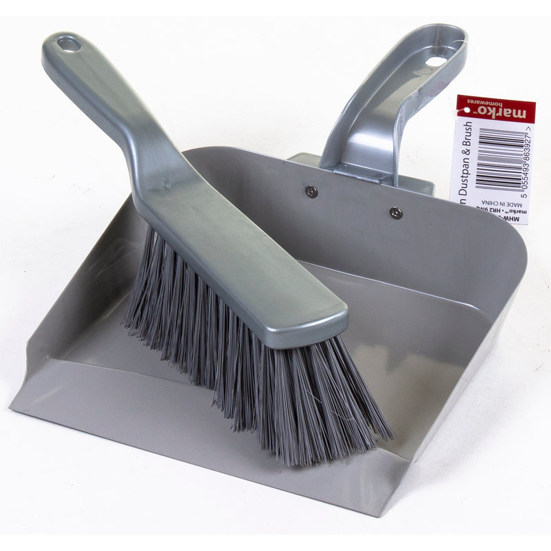 Iron Dustpan & Brush