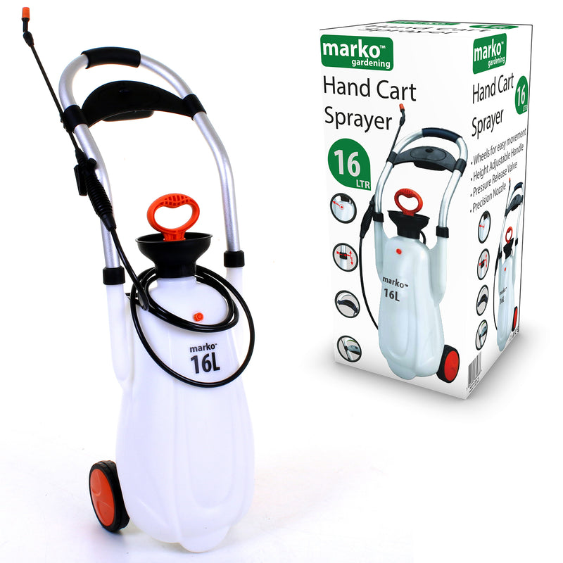 16L Portable Cart Sprayer