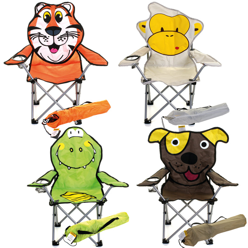 Kids Cartoon Camping Chairs
