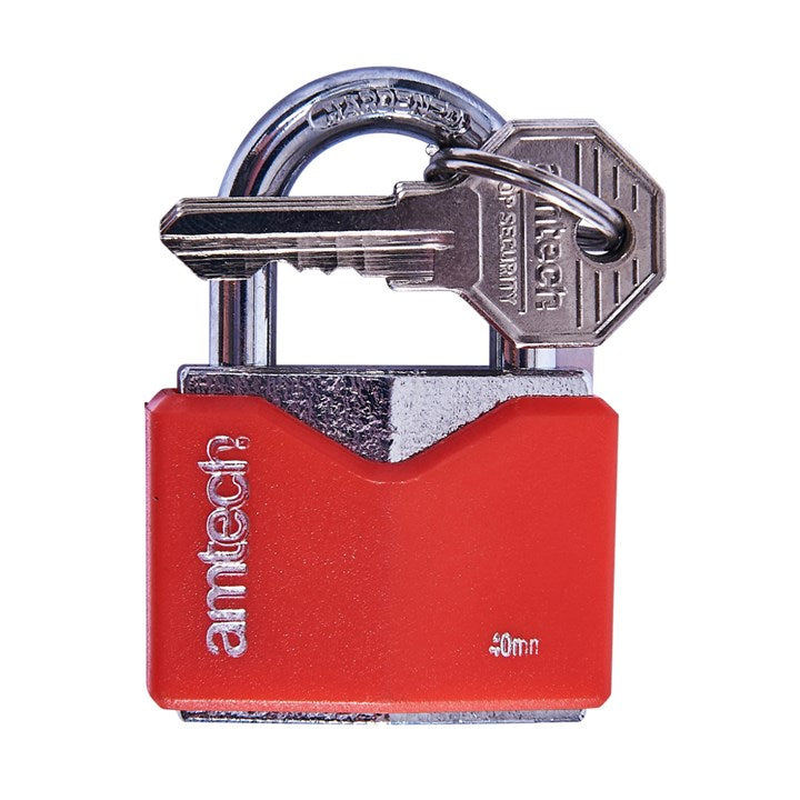 40mm Rhombic Chrome Plated Iron Padlock