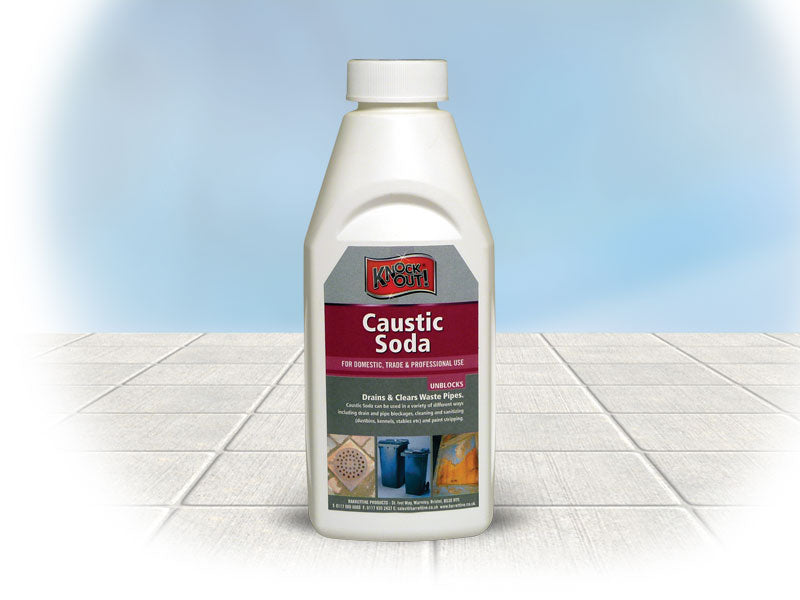 Knock Out ! Caustic Soda 500g