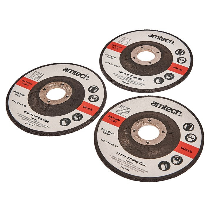 3pc 115mm Stone Cutting Disc