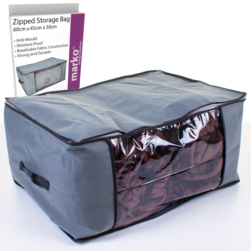 Zipped Storage Bag - 60cm x 45cm x 30cm