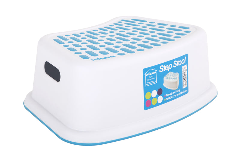 Anti-Slip Step Stool White